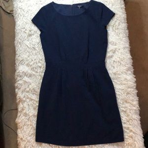 Madewell navy dress size 2 with pockets
